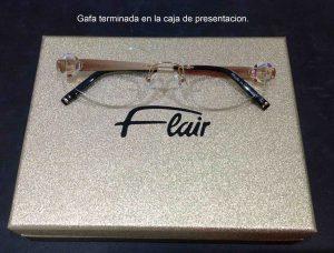 Montaje lentes en gafa Flair